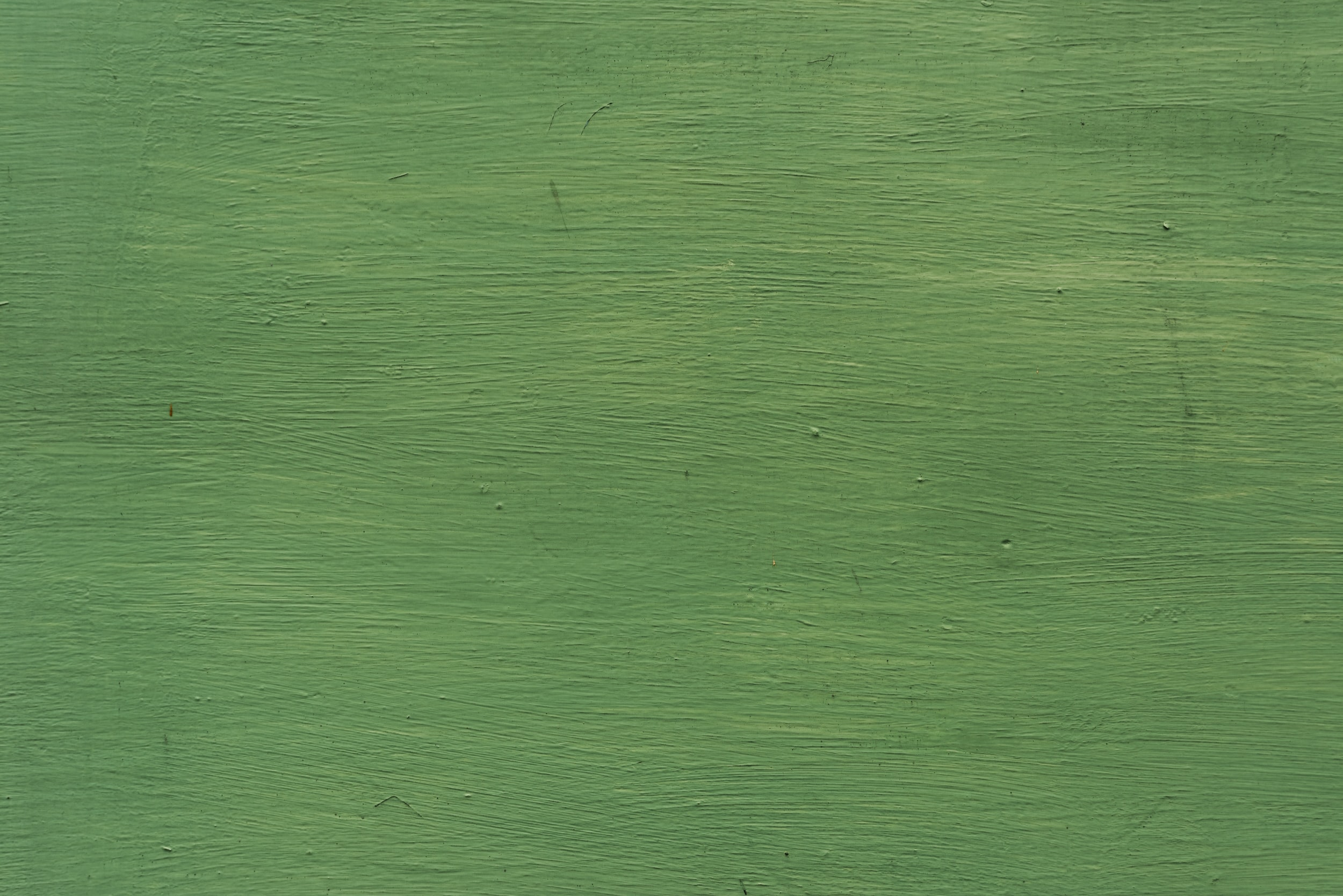 green painted surface