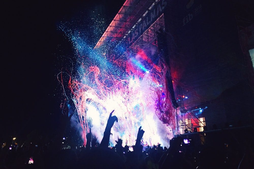 photography of concert
