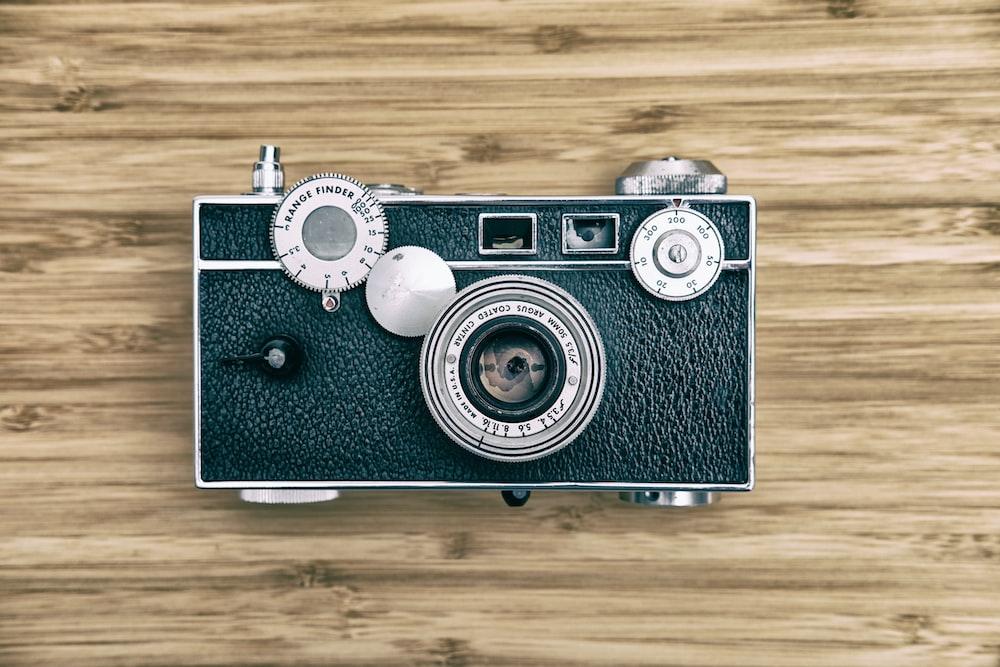 classic black and gray camera