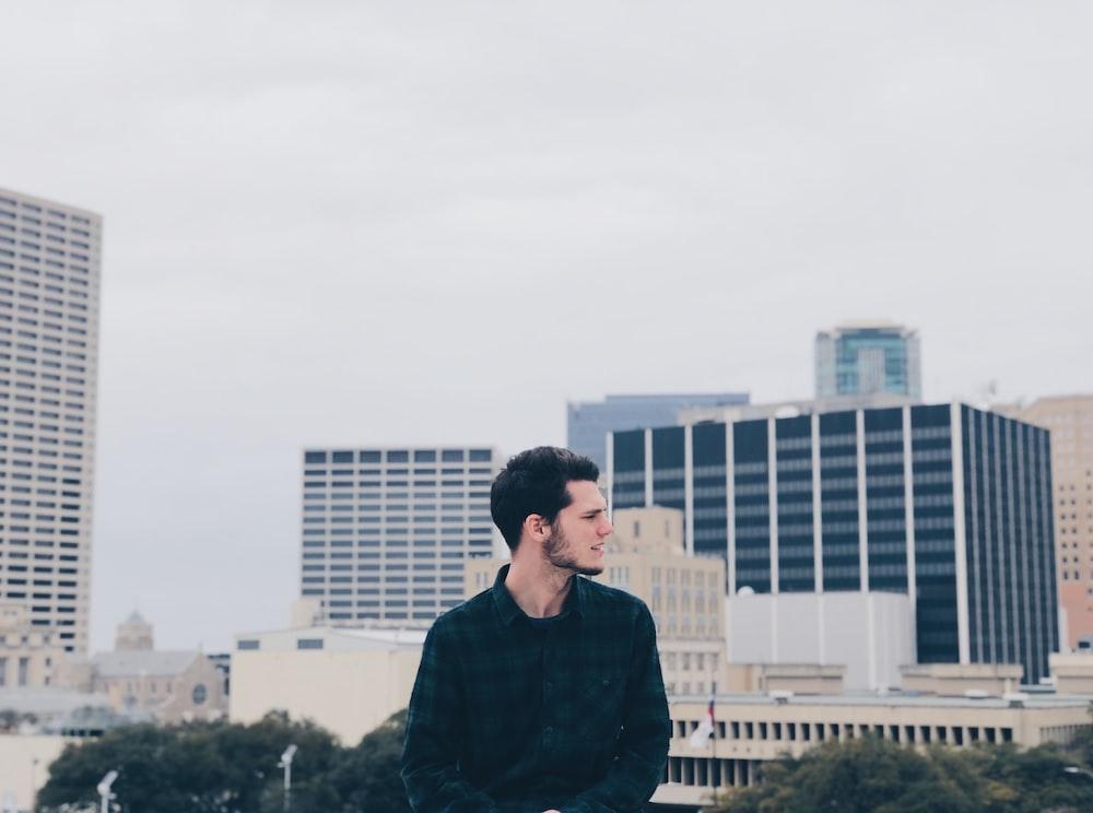 man standing during daytime