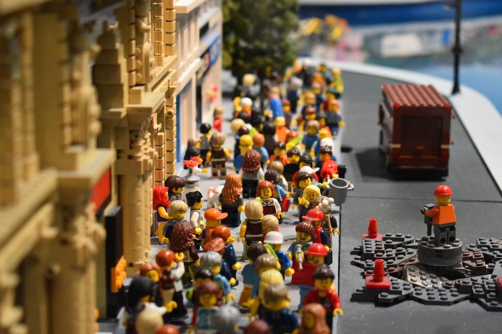 Lego mini figure collections