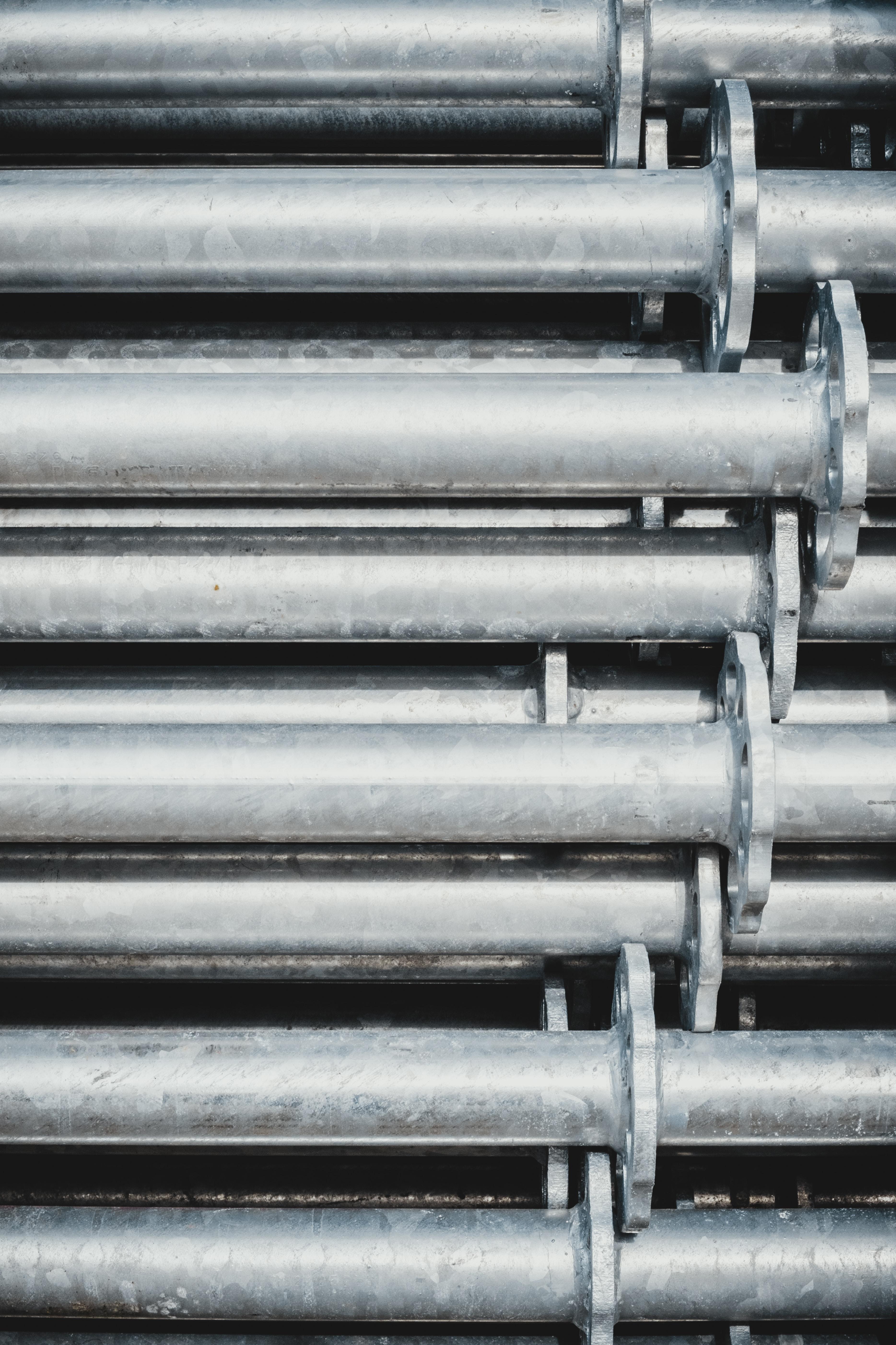 gray steel rod lot