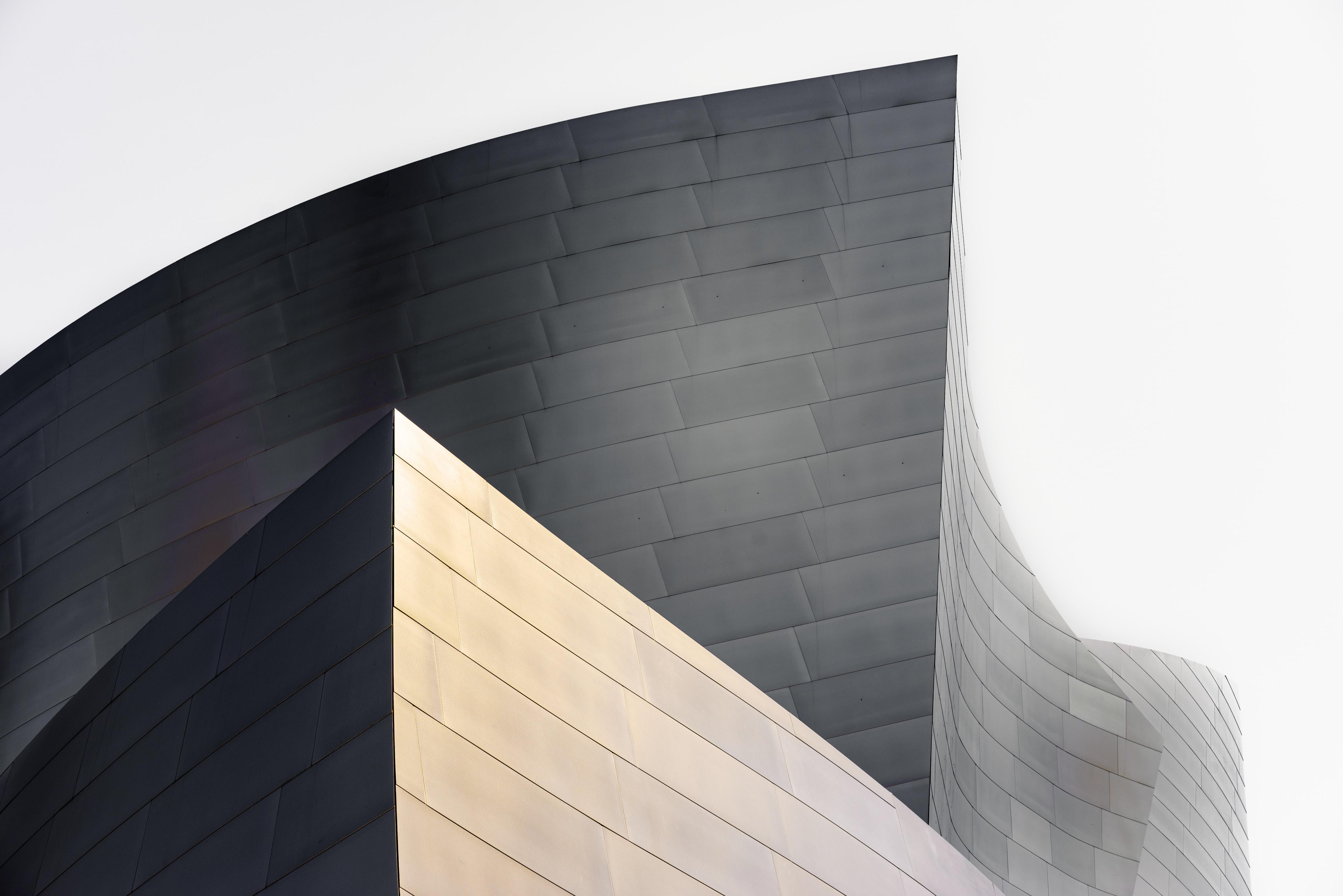 gray concrete building wall