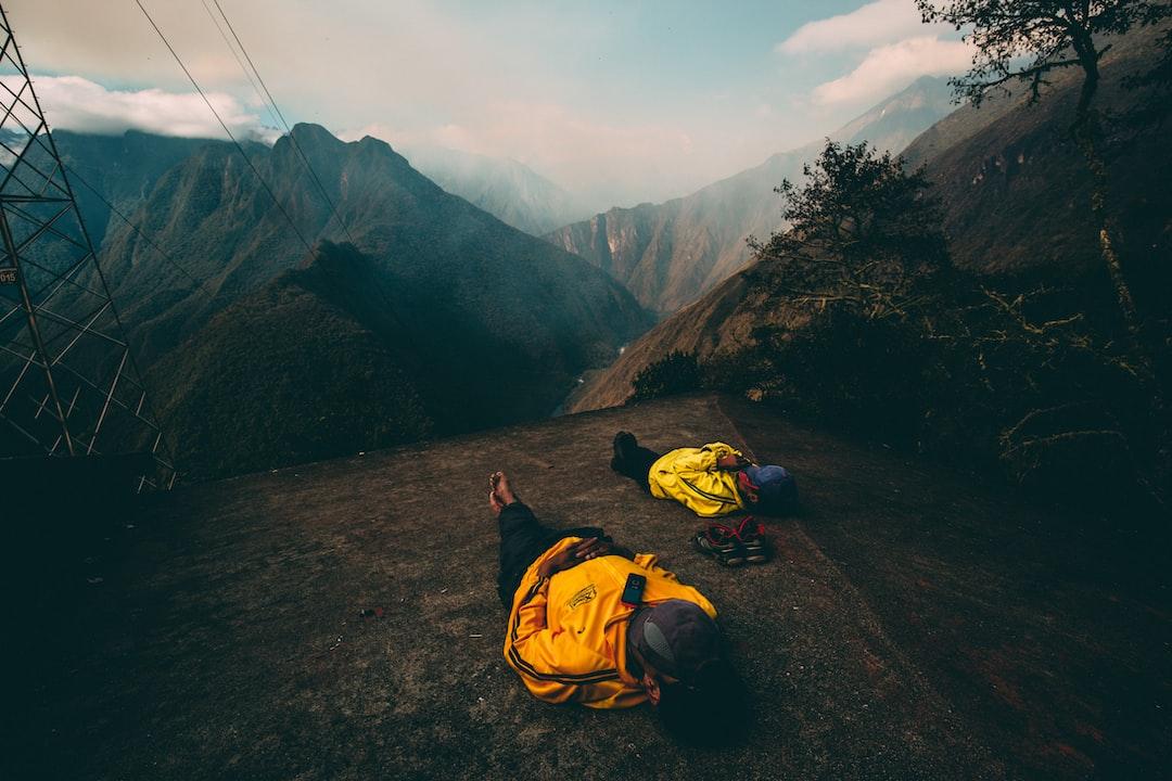 Mid Hike Nap Along the Inca Trail