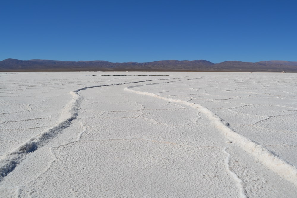 white sand in shallow focus