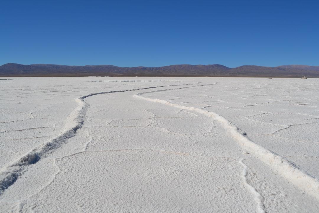 Salinas in Salta Province, Argentina