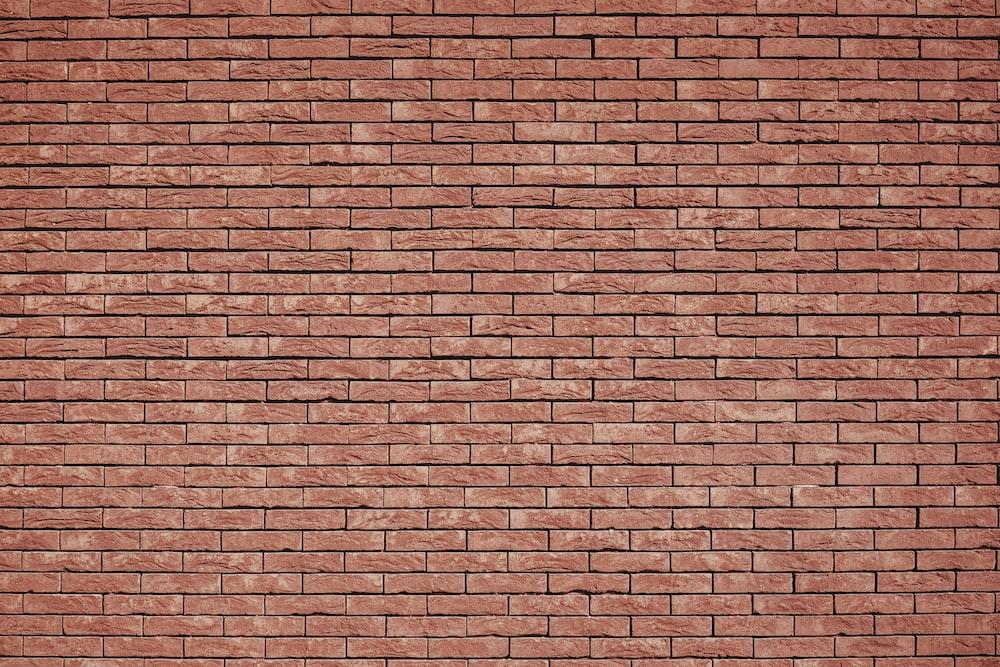 brown concrete brick