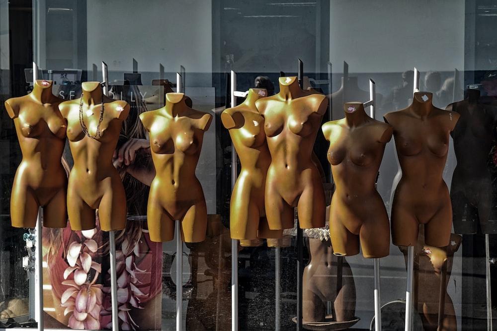 torso mannequin lot