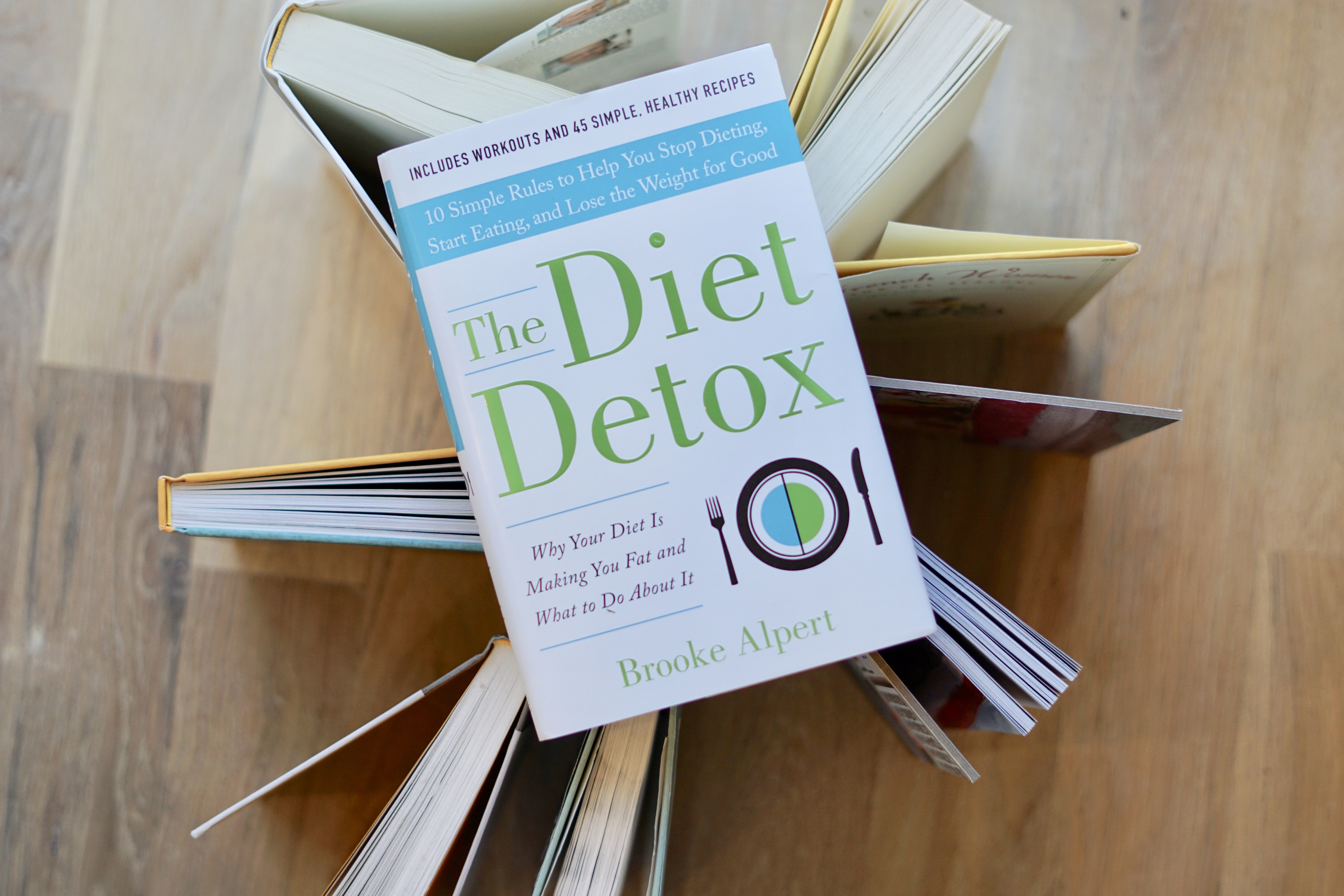 The Diet Detox book on open books