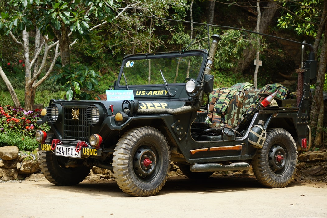"The name Jeep came from the abbreviation used in the army for the ""General Purpose"" vehicle, G.P."