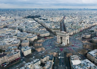aerial view photography of city