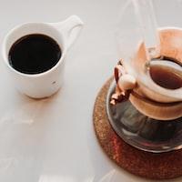 coffee mug on table