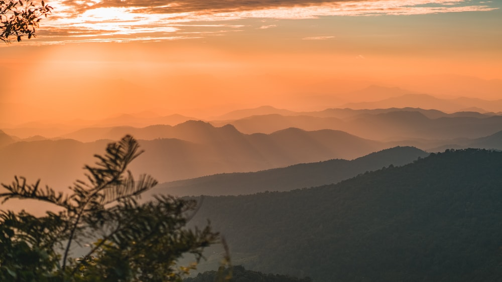 scenery of sunrise