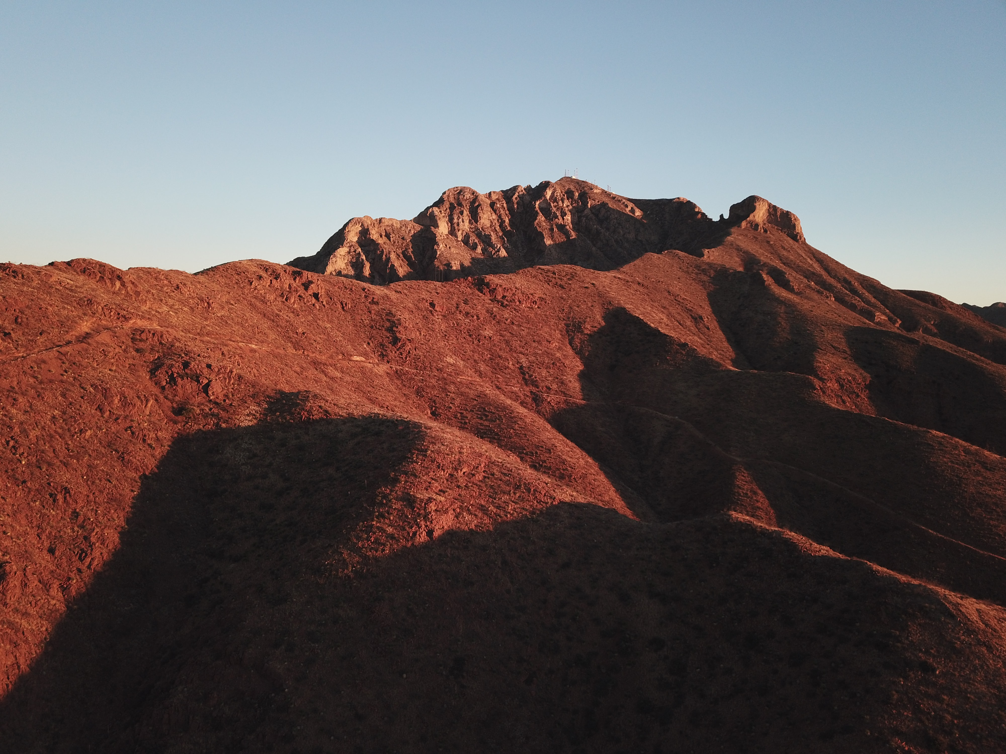 dessert mountain