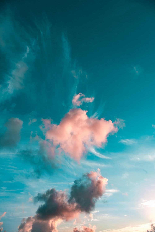 blue sunny sky