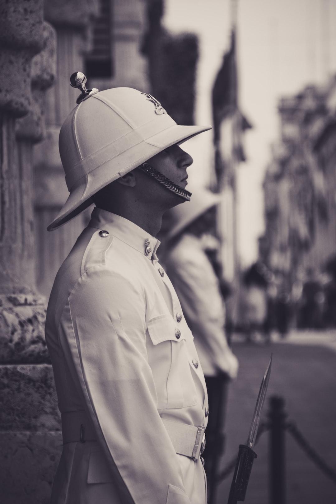 A guard in Malta