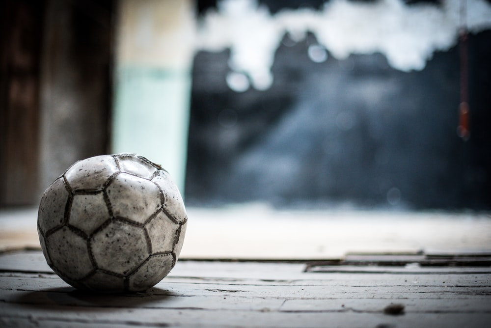 depth of field photography of soccer ball