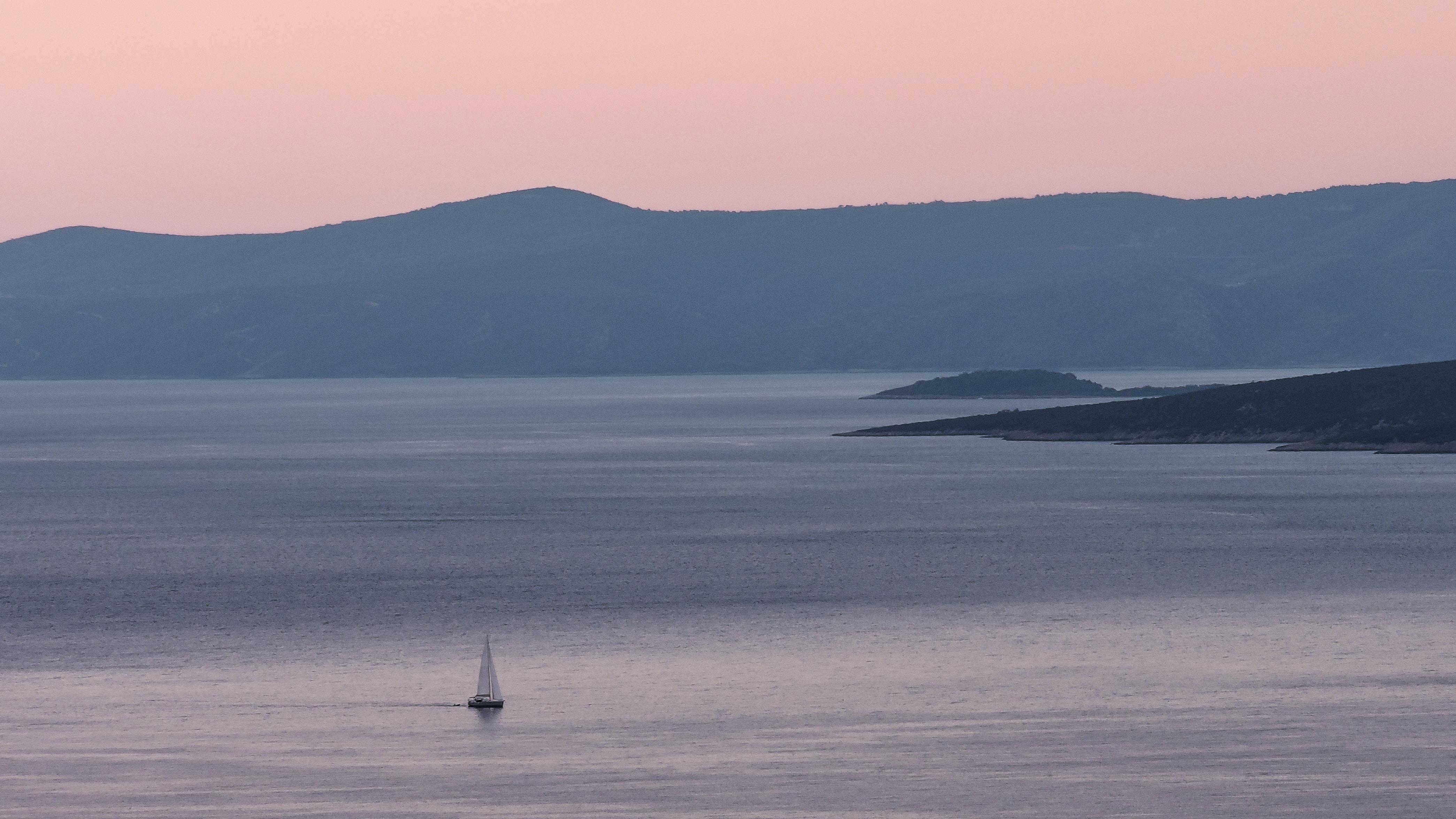 sailing boat on ocean