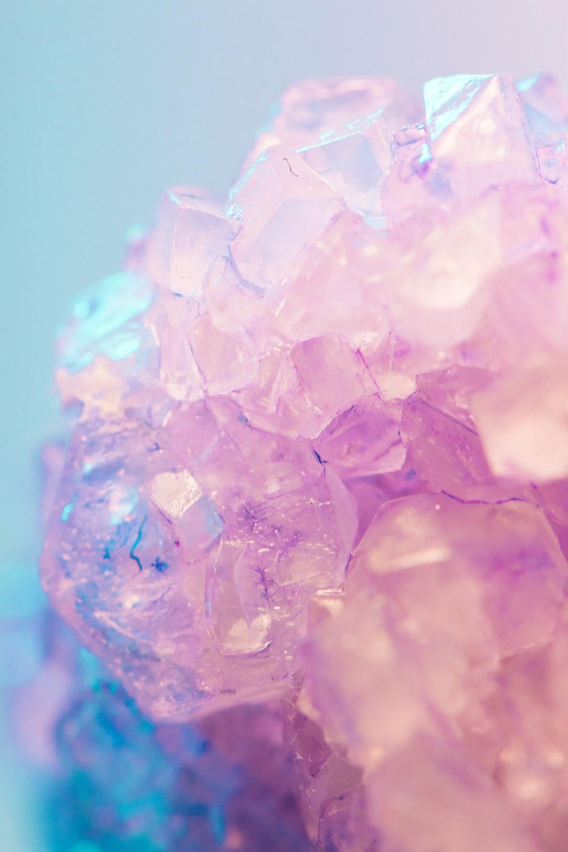purple cyrstal quarts stone
