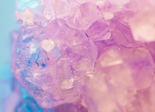 purple cyrstal quarts stone