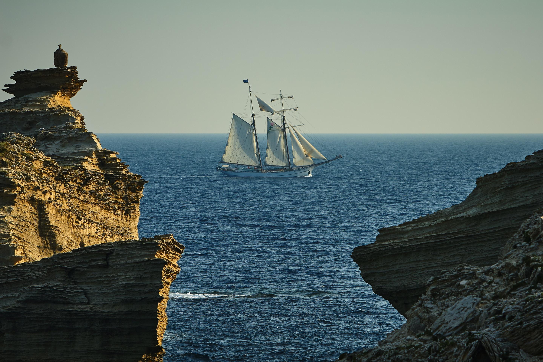 galleon ship on sea