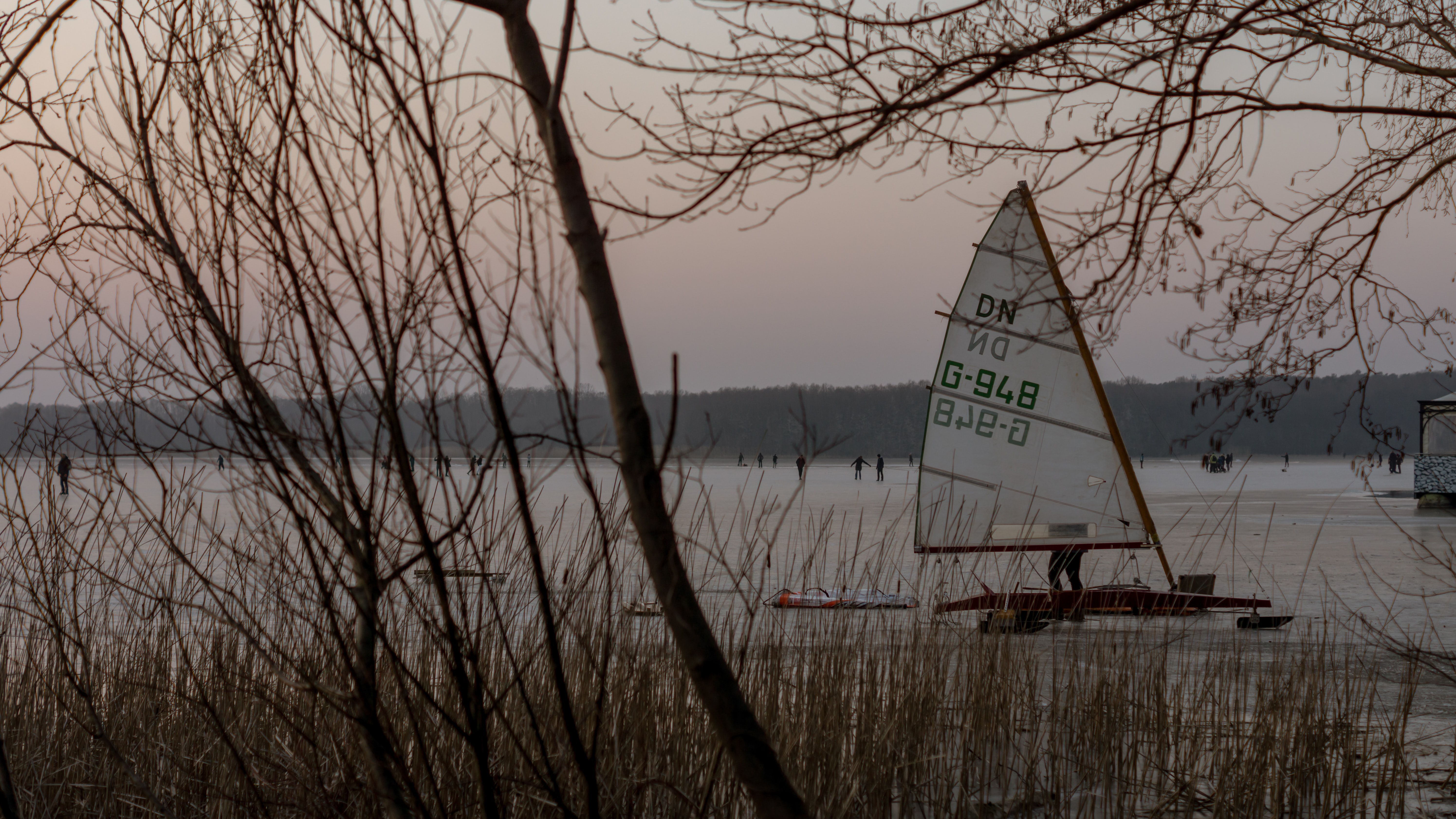person sailboating on body of water