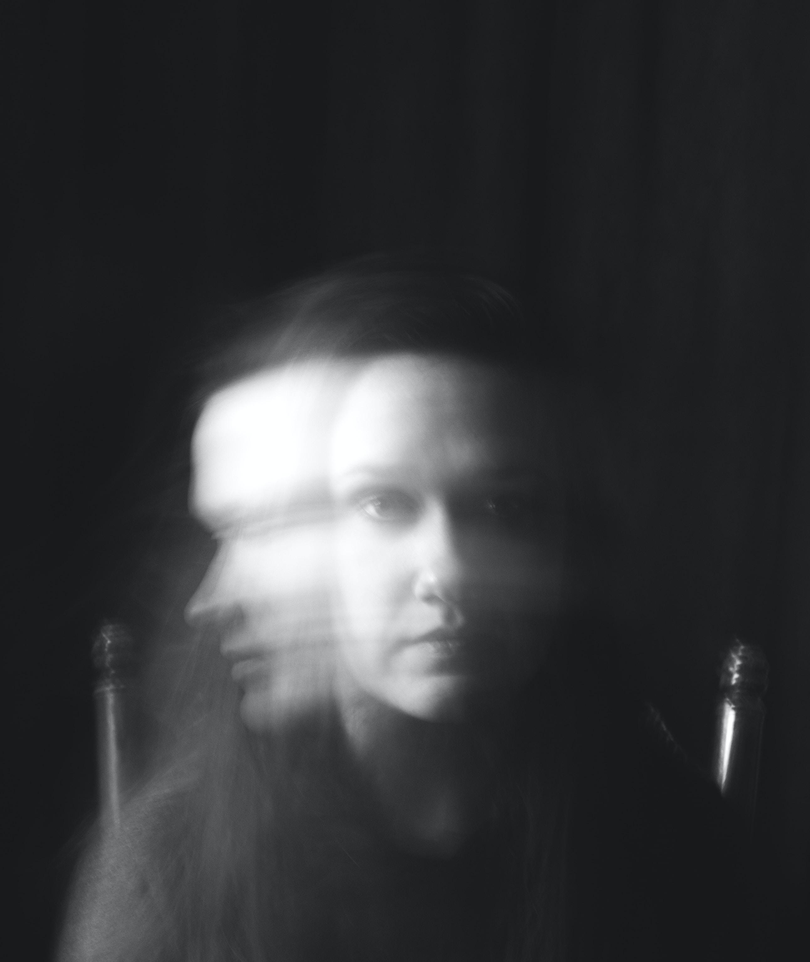 shade photo of woman