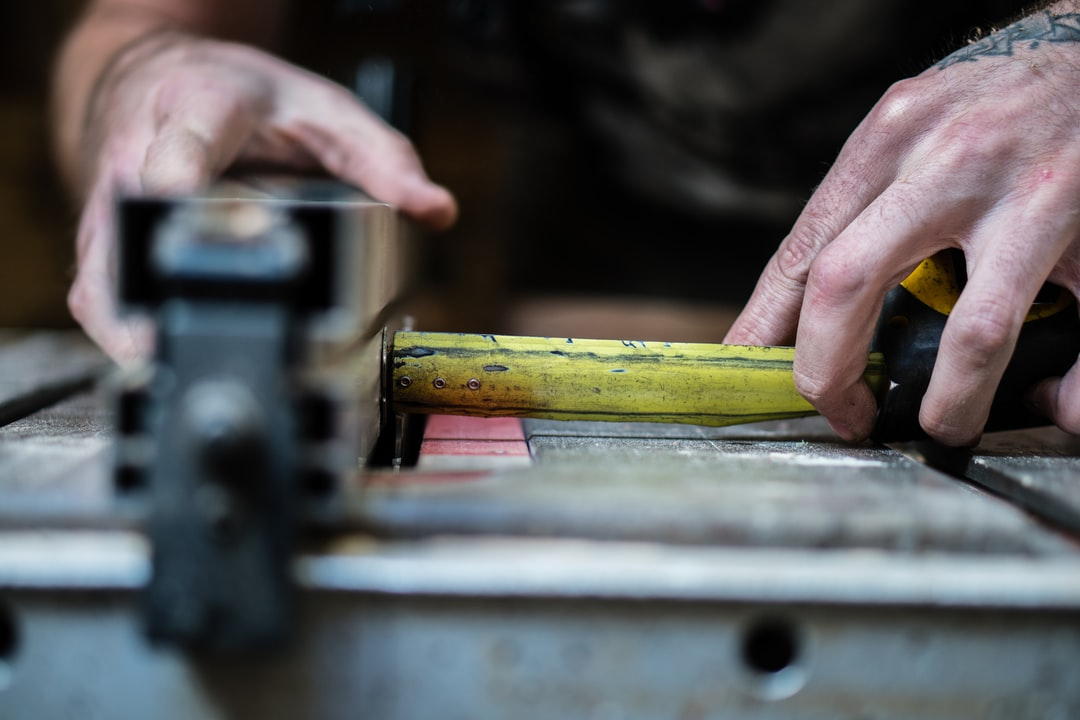 Friend of mine makes custom furniture. I was glad to come into his workshop to take a few pictures of him in progress…