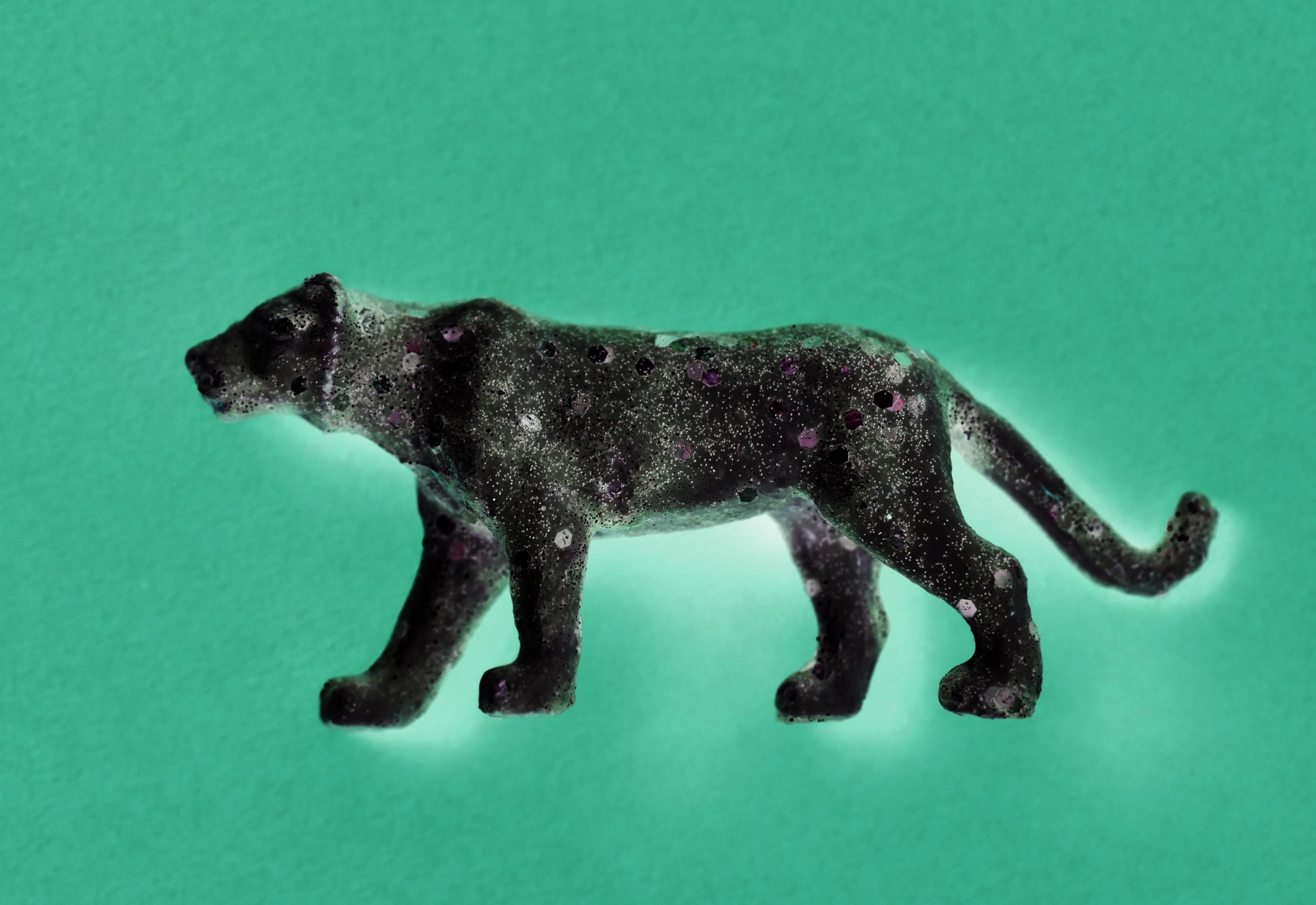 black panther toy