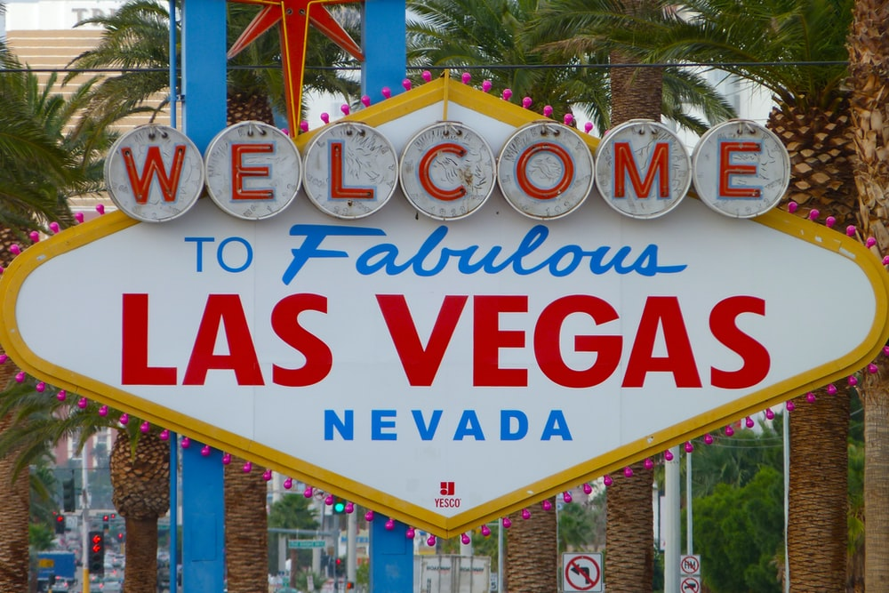 Welcome to Las Vegas Nevada signage