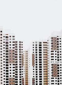 landscape phot oof skyscrapers
