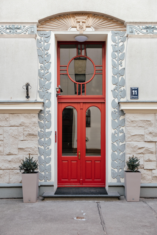 Beautiful historic doors in Riga