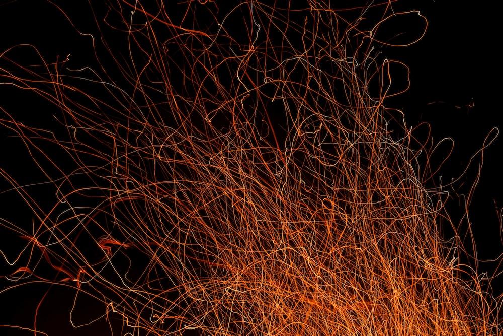 steel wool photography