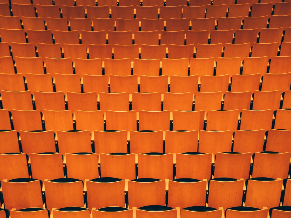 empty theater seat