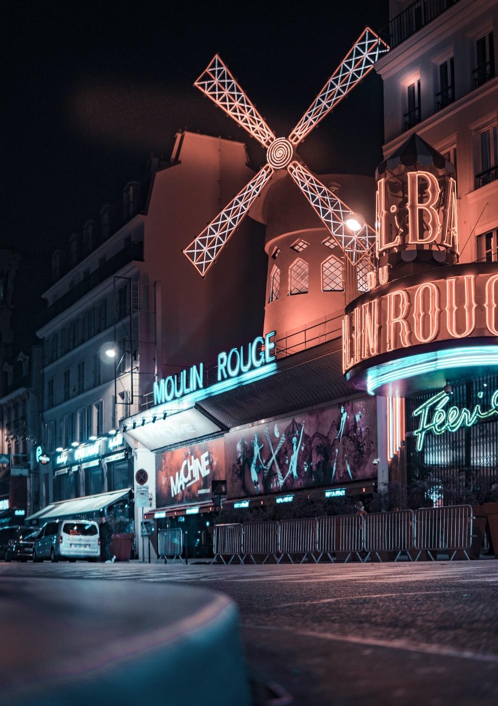 Moulin Rouge building