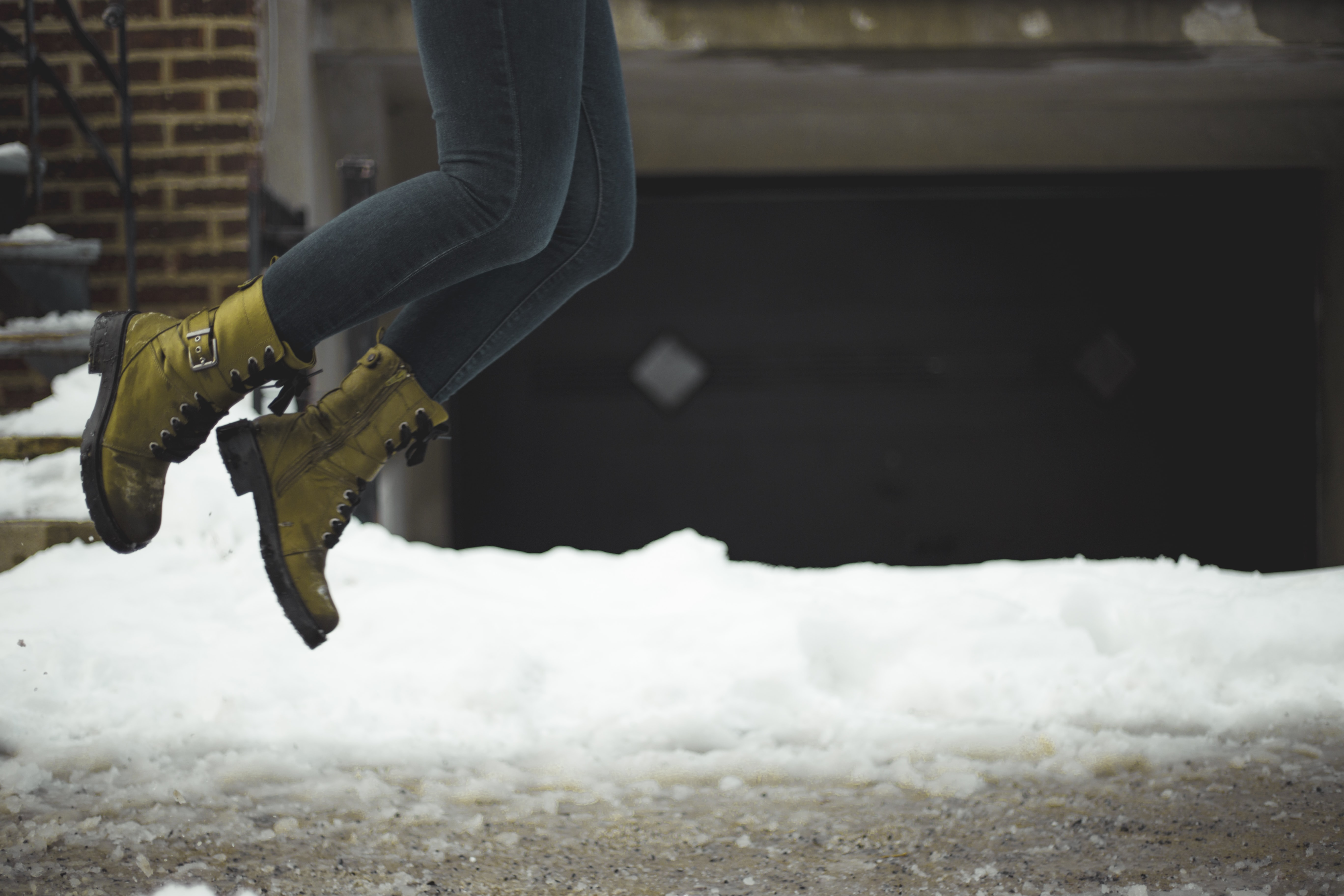 person jumping outdoor