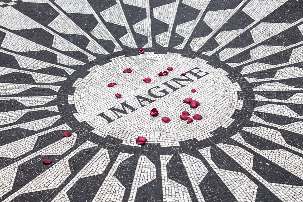 photo of imagine text