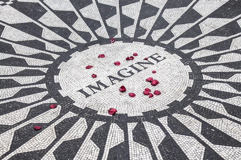 photo of imagine text