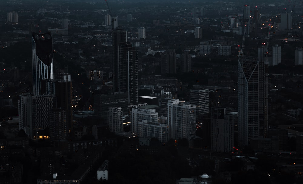 cityscape view of high-rise buildings