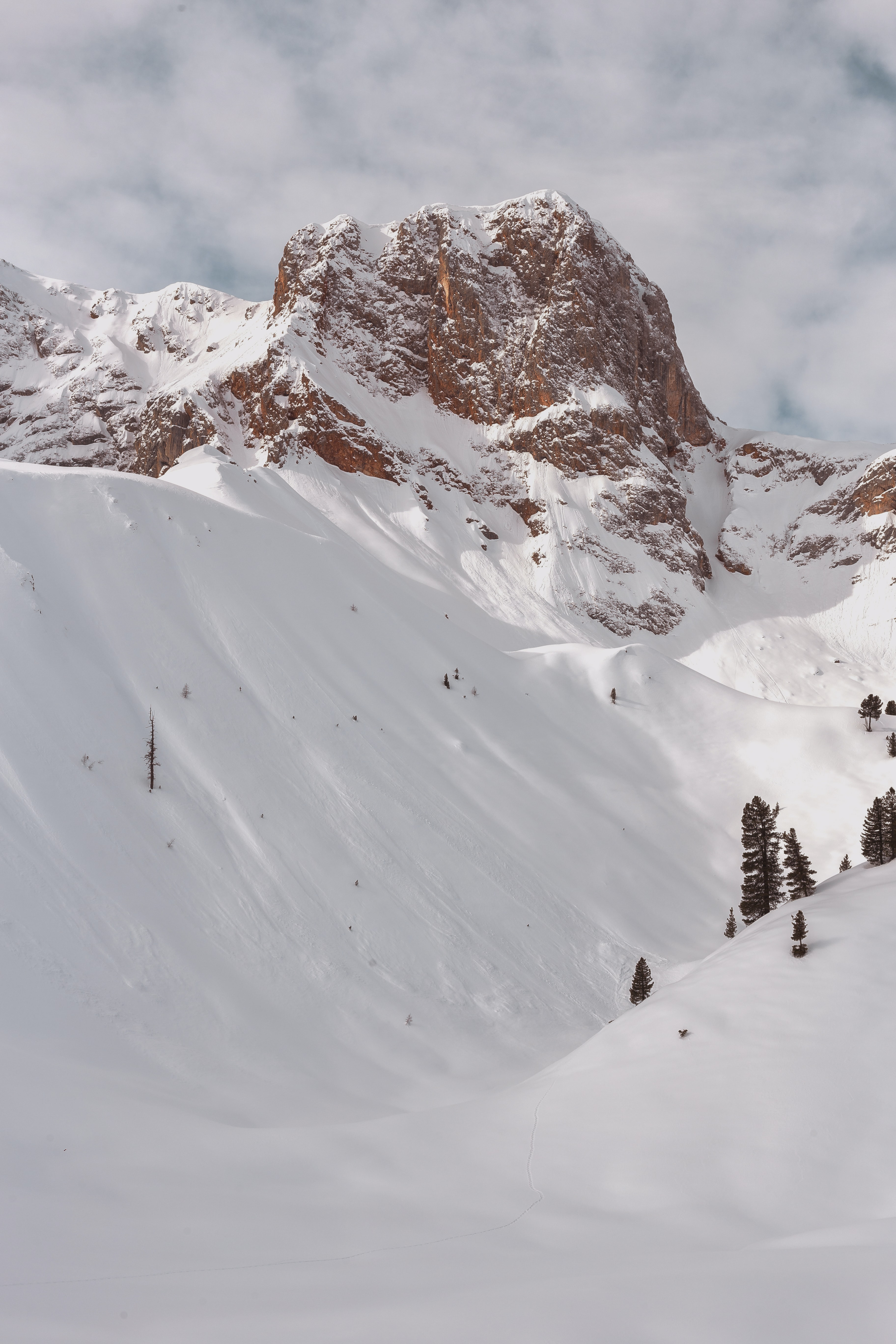 photo of mountains filled with snow