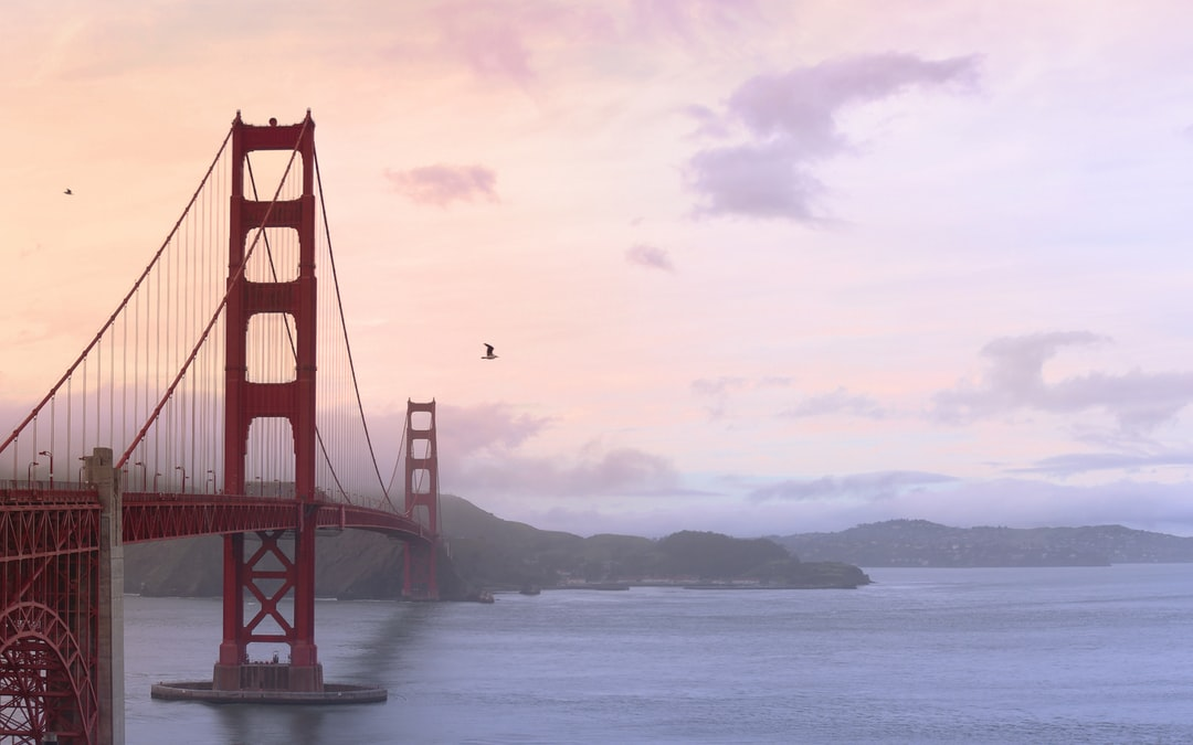 Purple Dawn at Golden Gate Bridge