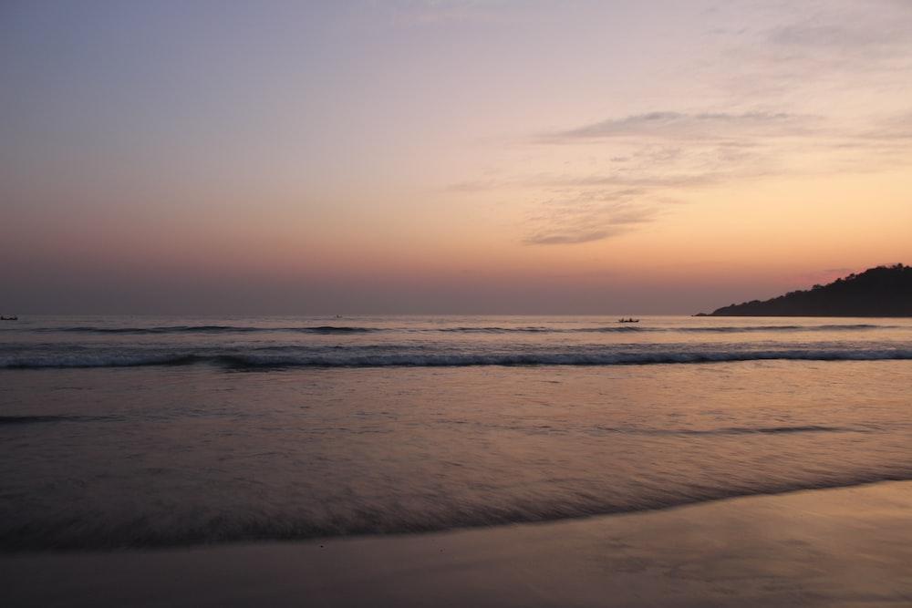 landscape photo of shoreline