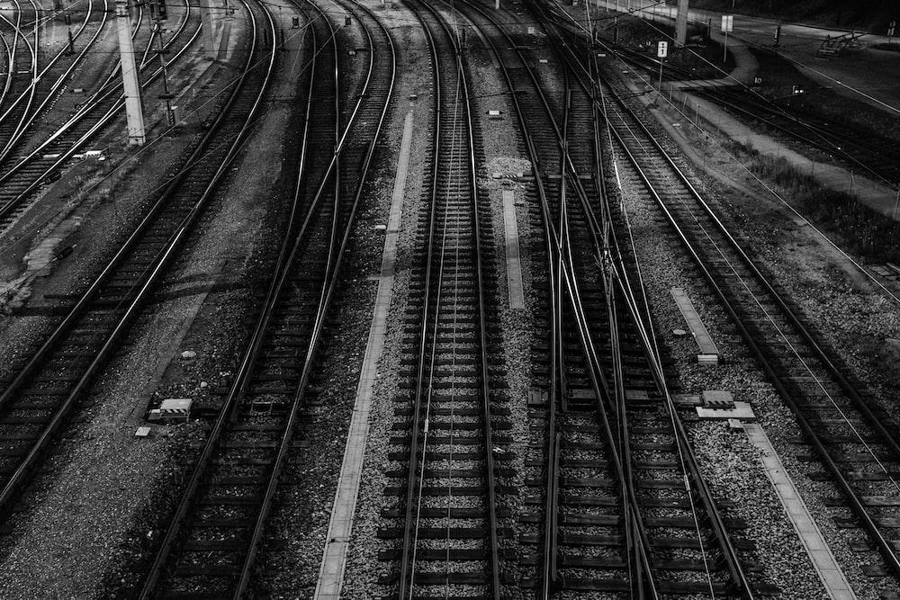 black train railway