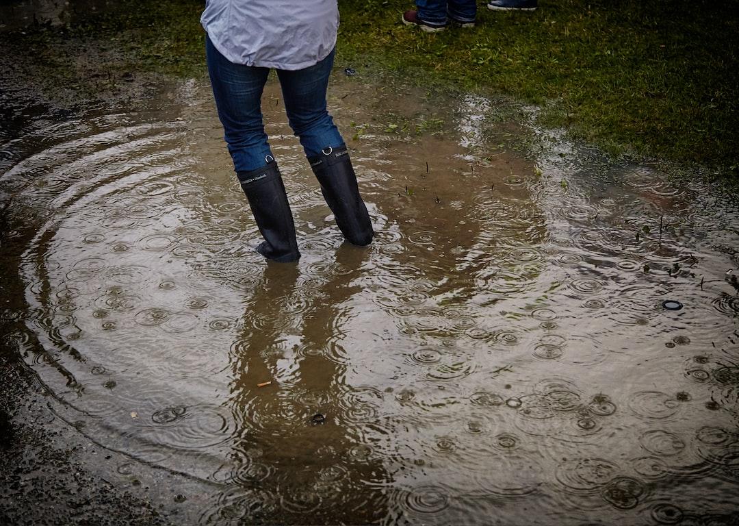 Rainy Day at Music Festival