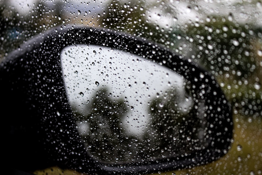 shallow focus photography of raindrops