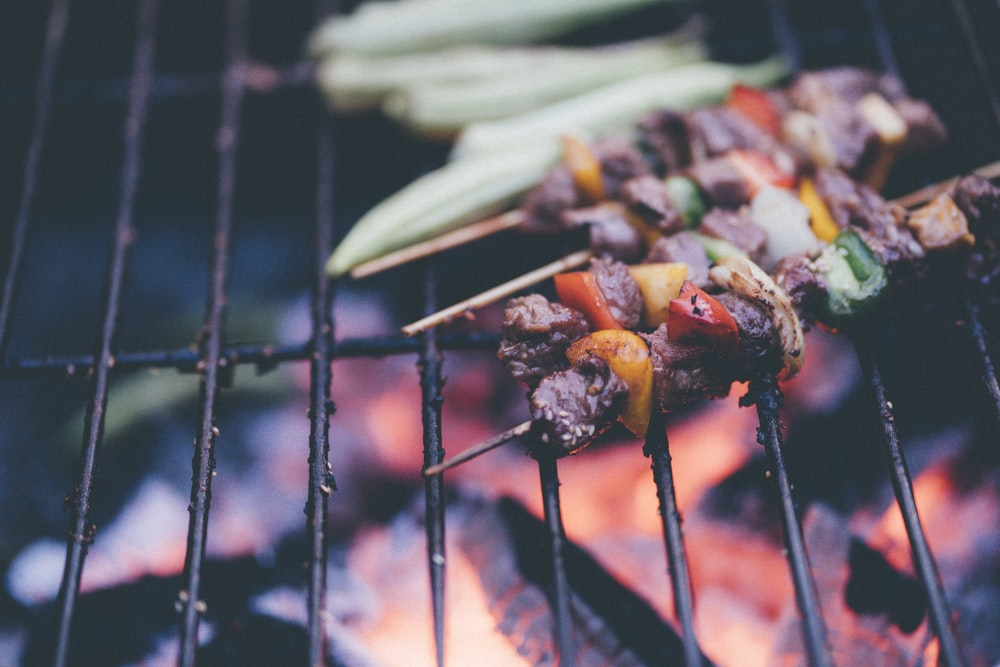 shallow focus photography of grilled barbecue