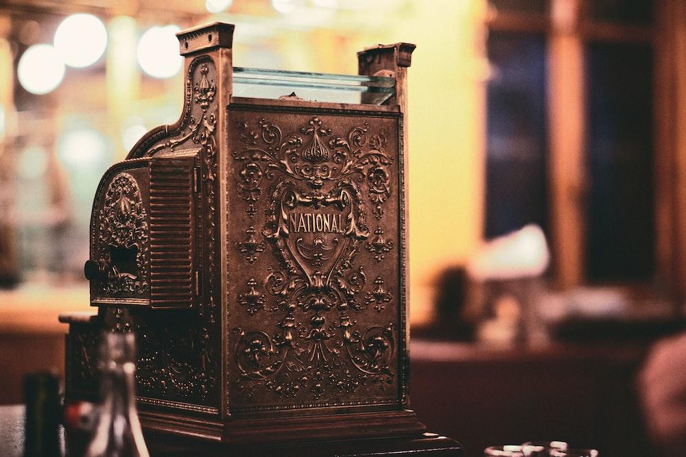 vintage brown equipment