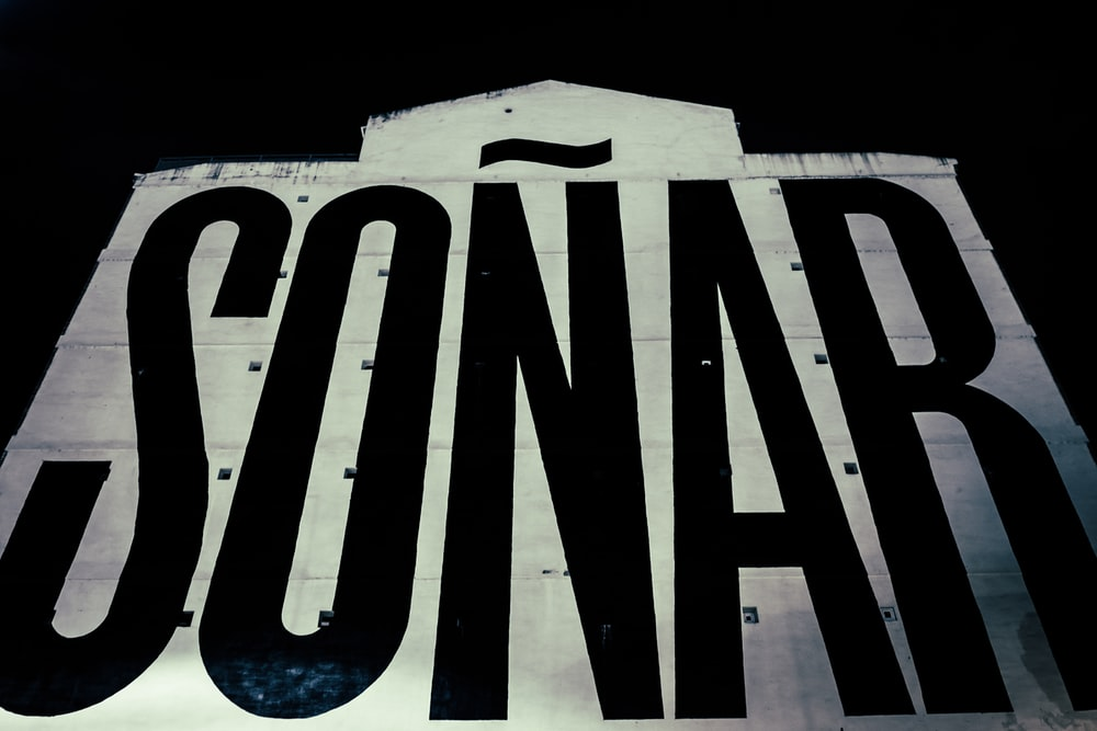 Sonar poster