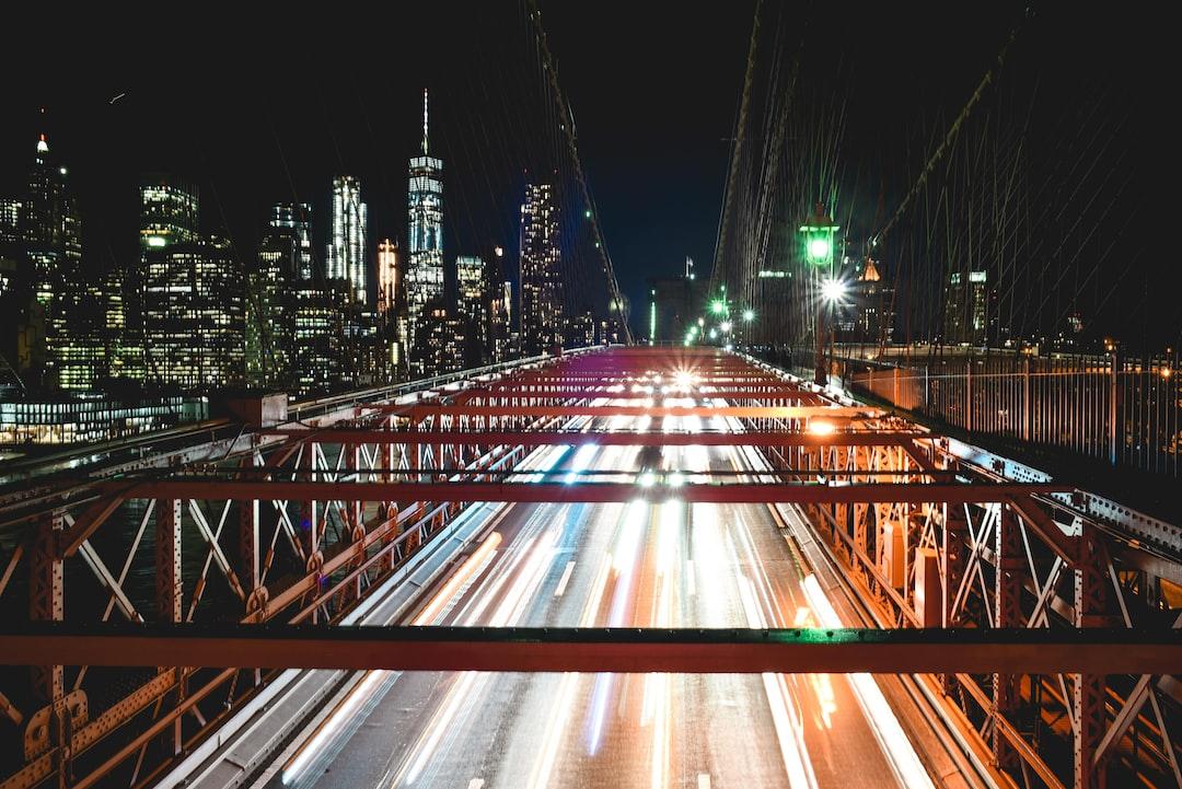 Long Exposure over the Brooklyn Bridge