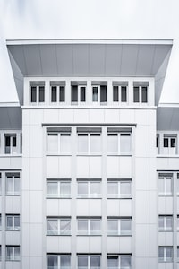 photo of white building